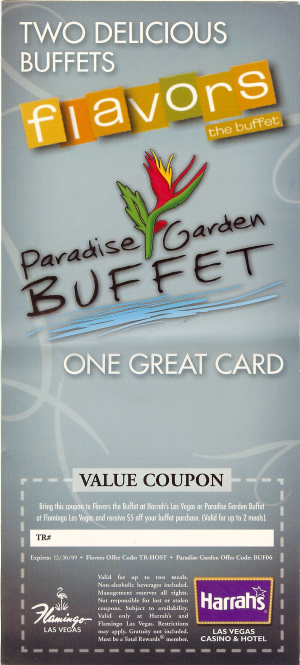 Vegas food coupons