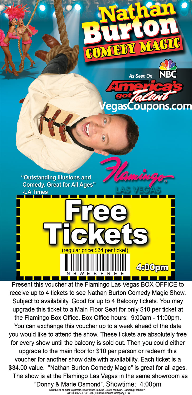 Las vegas discounts and coupons