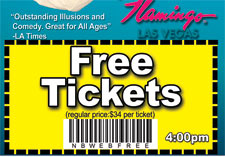 Free Nathan Burton Magic Show Coupon Ticket