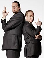 The duo has toured the world with their unique act and now take up residency in Las Vegas where their live show can thrive. They also host a television show titled Penn & Teller: Bull**** wherein they advocate their views on politics, religion and science with their unique brand of humor. In their performances, Penn acts as narrator and host.