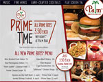 Prime Happy Hour Appetizer Special